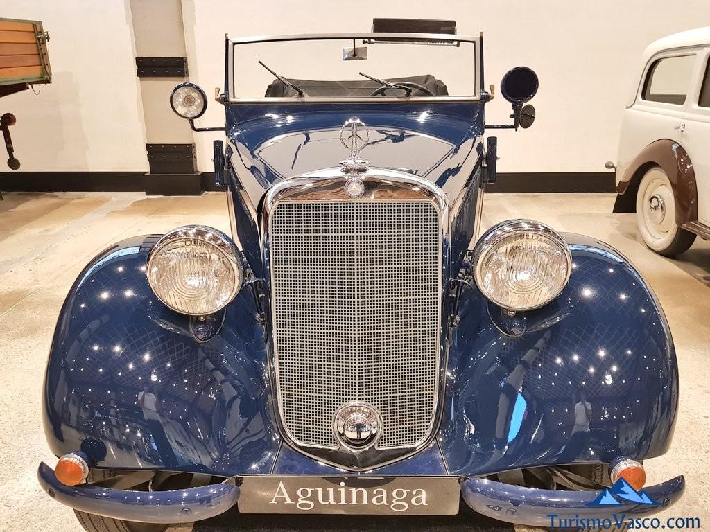Coche del Museo Aguinaga de Mercedes-Benz