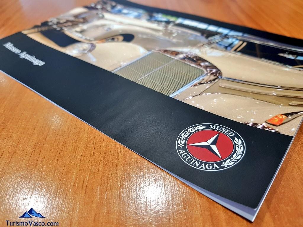 Folleto informativo del Museo Aguinaga de Mercedes-Benz