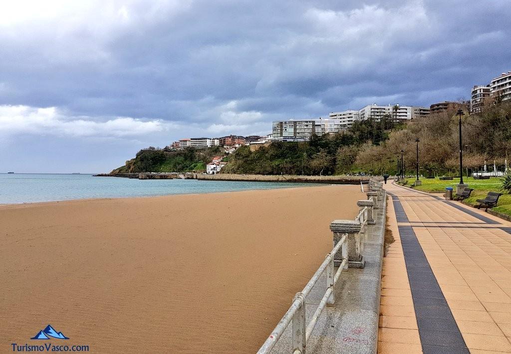Getxo, playa de ereaga