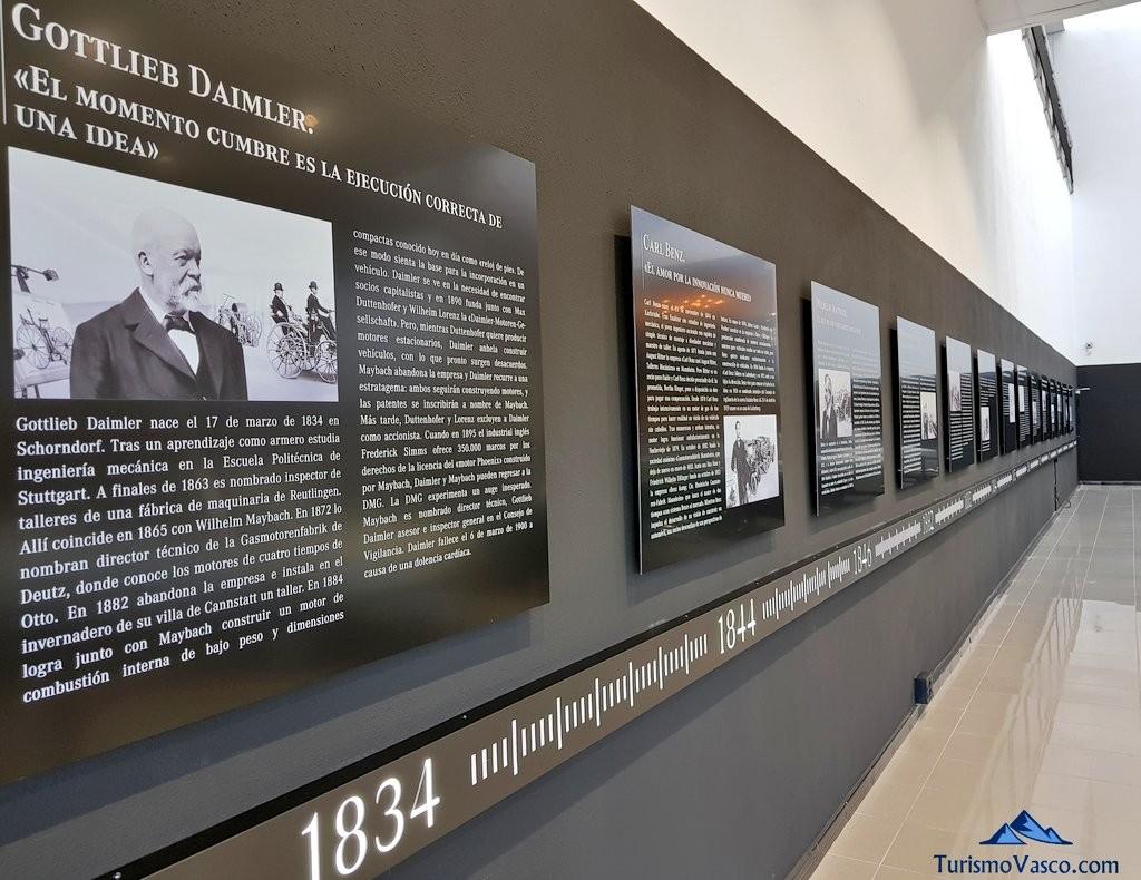 Historia de Mercedes benz en el Museo Aguinaga de Mercedes-Benz