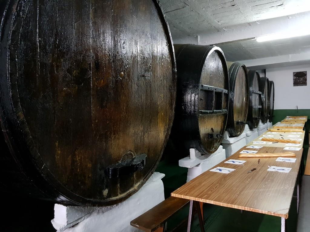 Interior de Oiarbide sagardotegia