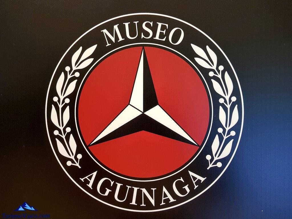 Logo del Museo Aguinaga de Mercedes-Benz