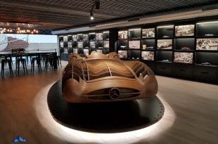 Maqueta en el Museo Aguinaga de Mercedes-Benz
