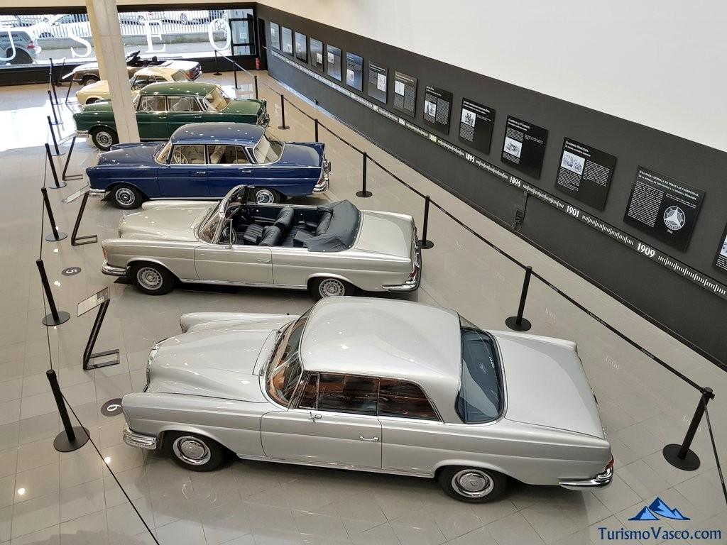 Museo Aguinaga de Mercedes-Benz visto desde arriba