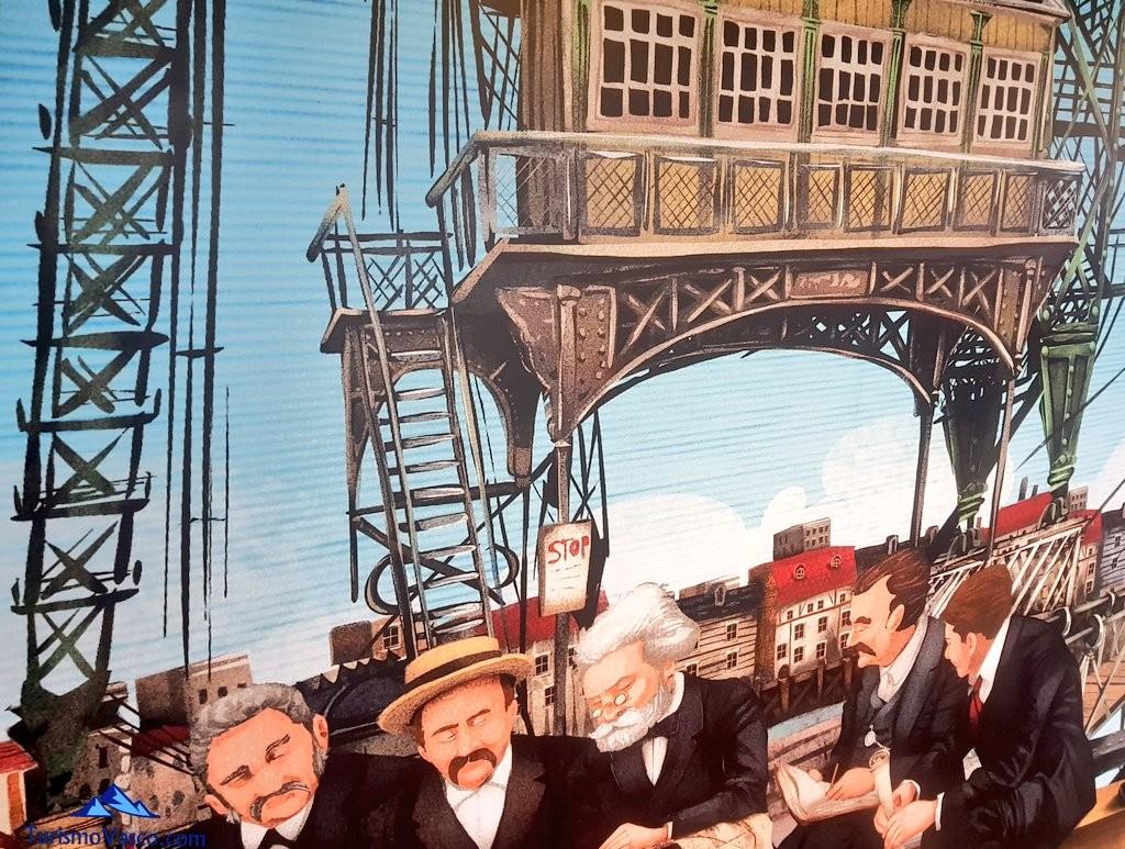 Pintura del Puente Bizkaia