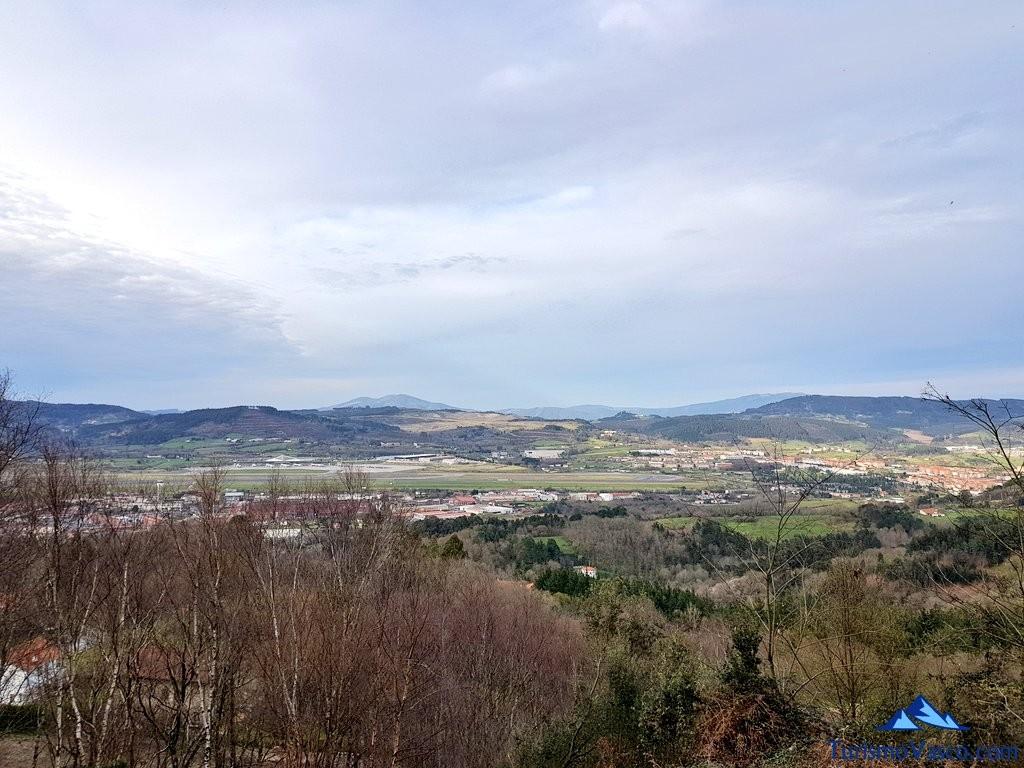 Valle de Txorierri desde Artxanda