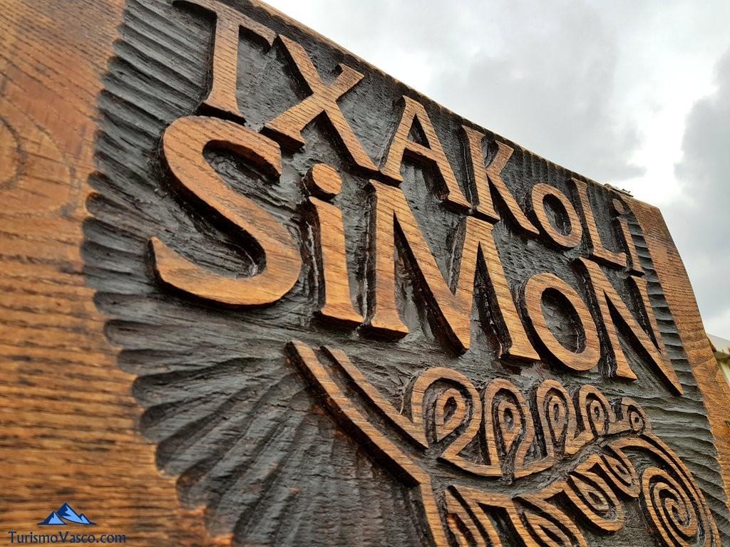 cartel Txakoli Simon Artxanda