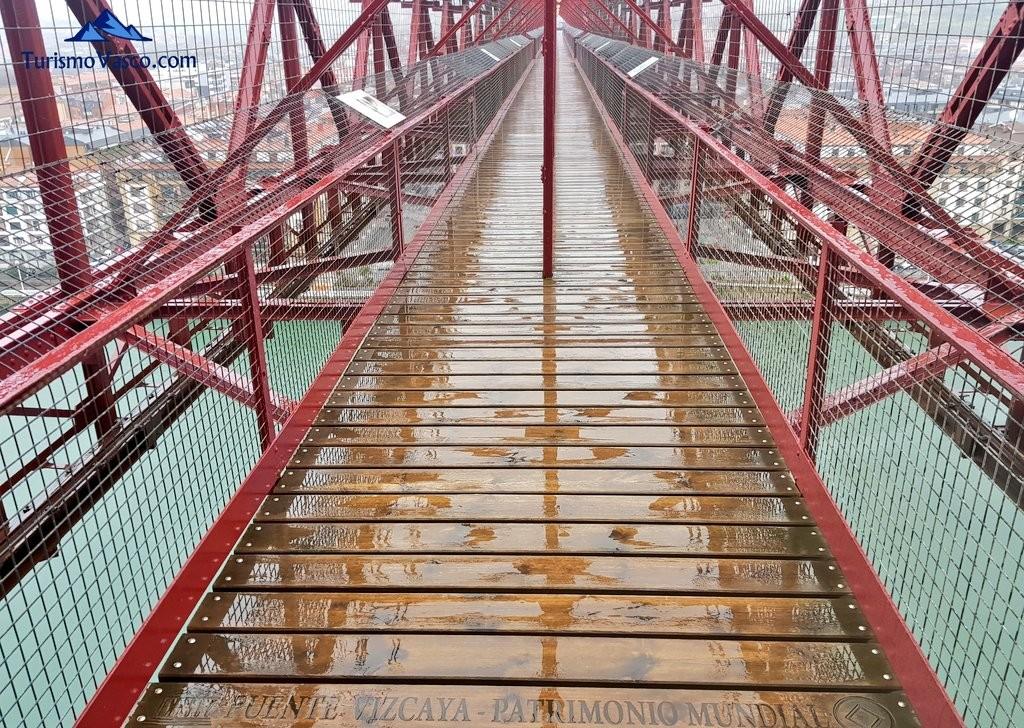 pasarela , Puente Bizkaia