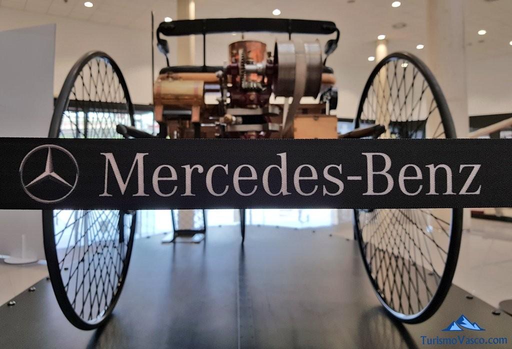 triciclo del Museo Aguinaga de Mercedes-Benz
