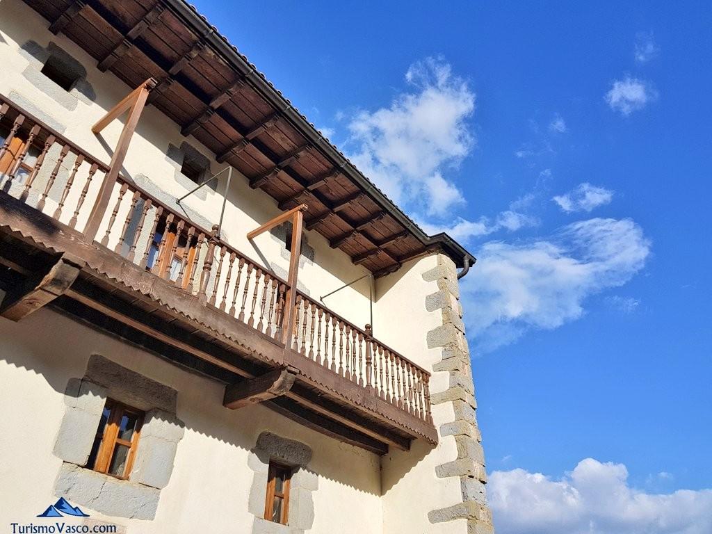 Balcón casa rural Monaut, Valle de Arce, Pirineo Navarro