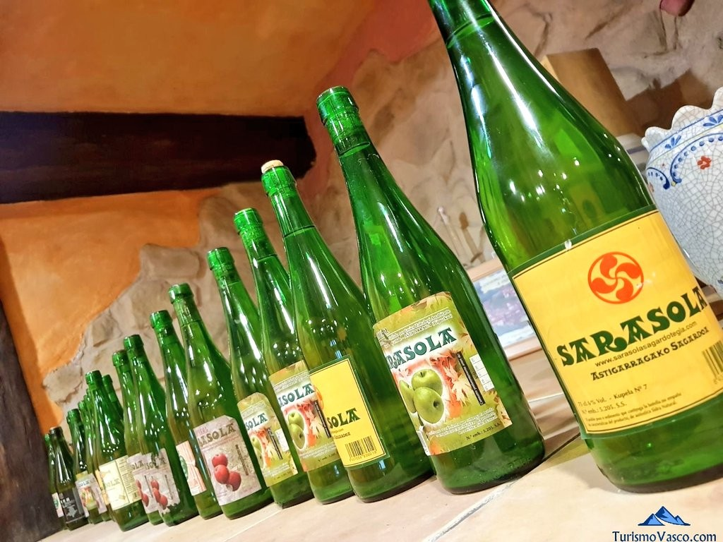Botellas de Sarasola