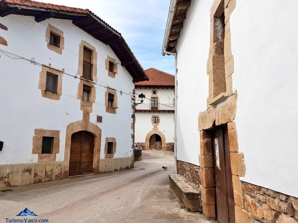 Calle de Villanueva de Arce, Pirineo Navarro