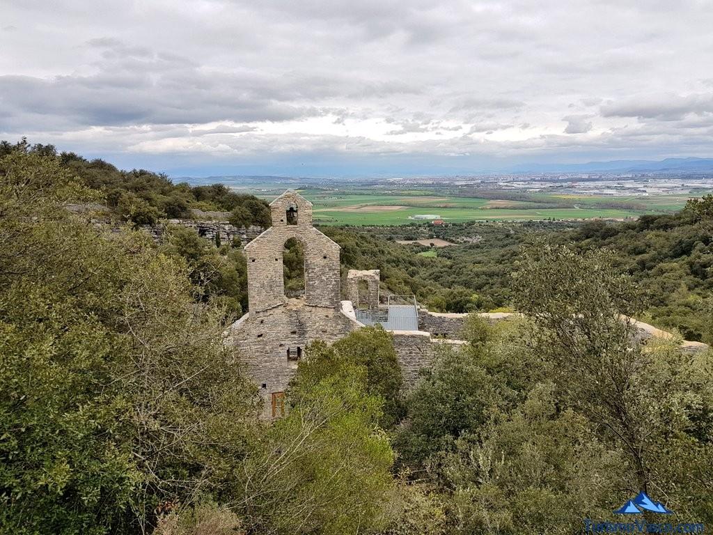 Monasterio del Jardín Botánico de Santa Catalina visto desde atras