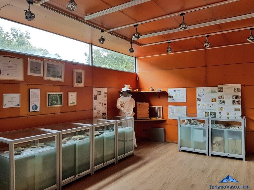 Sala de exposiciones del Jardín Botánico de Santa Catalina