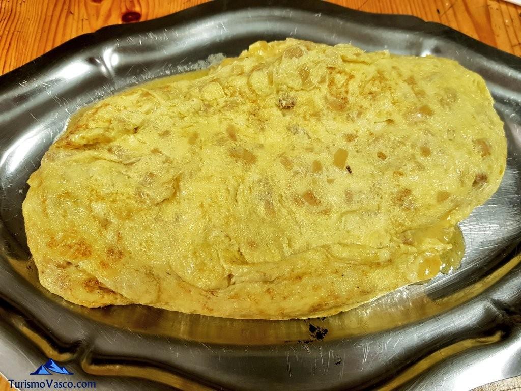 Tortilla sarasola sagardotegia