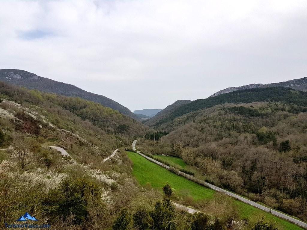 Vistas del Valle de Arce, Pirineo Navarro