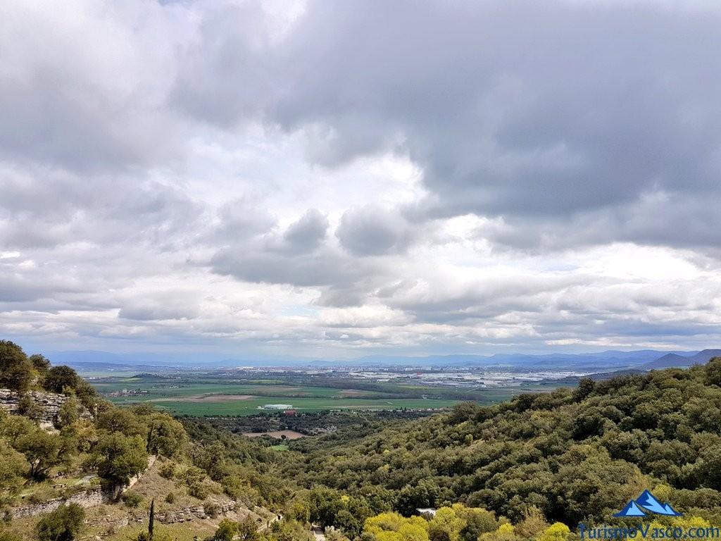 Vistas desde el Jardín Botánico de Santa Catalina