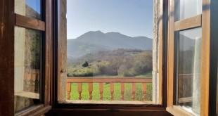 Vistas desde la casa rural Monaut del Pirineo Navarro