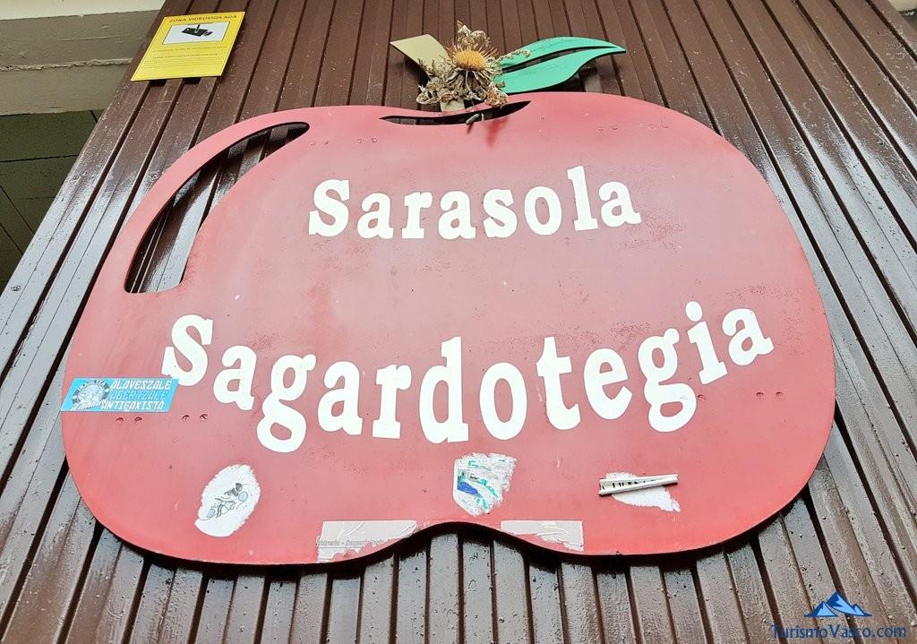 cartel Sarasola sagardotegia
