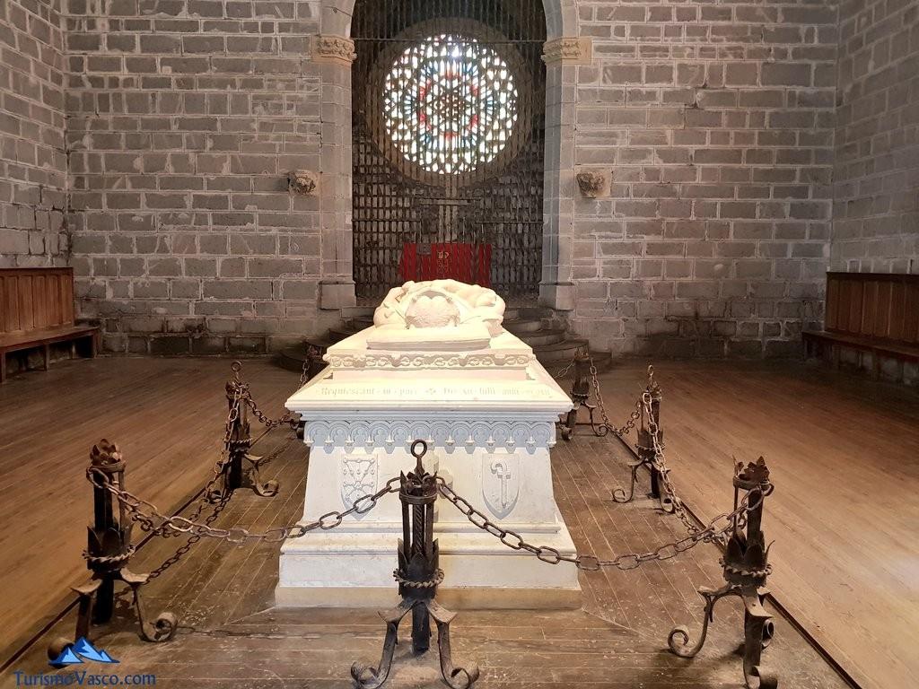estatua de sancho el fuerte en Orreaga - Roncesvalles