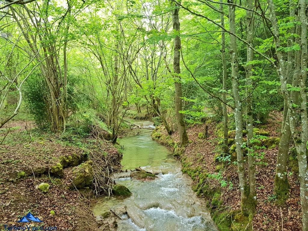 Rio inglares, ruta del agua