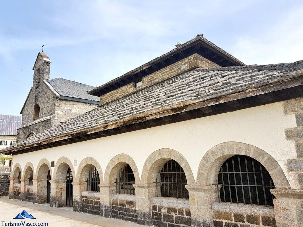 Silo de Carlomagno en Orreaga Roncesvalles