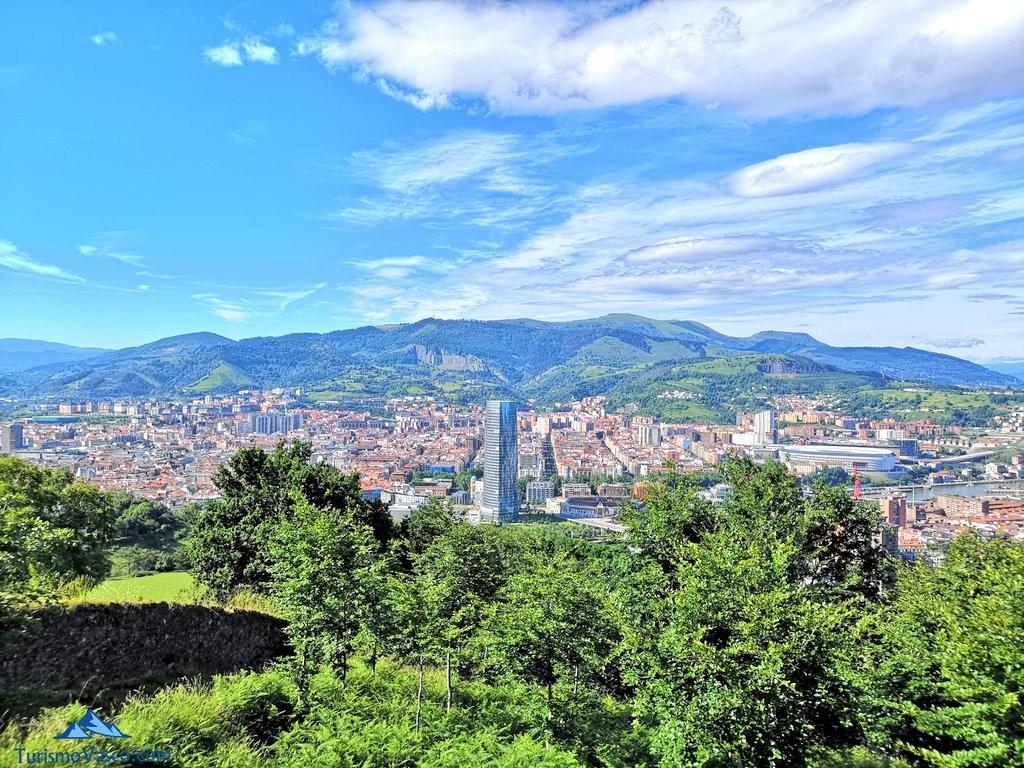 Bilbao desde Artxanda, miradores de Bilbao