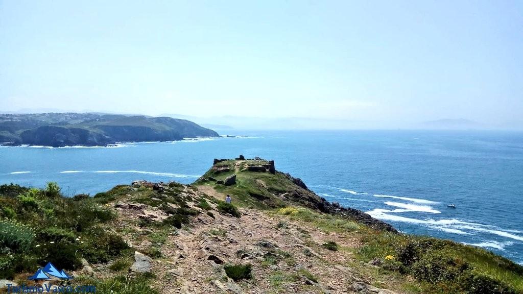 Gorliz, el castillito o Fortín de Askorriaga, Faro de Gorliz