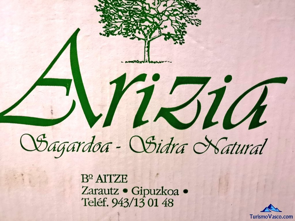 Logotipo de la Sidreria Arizia Zarautz