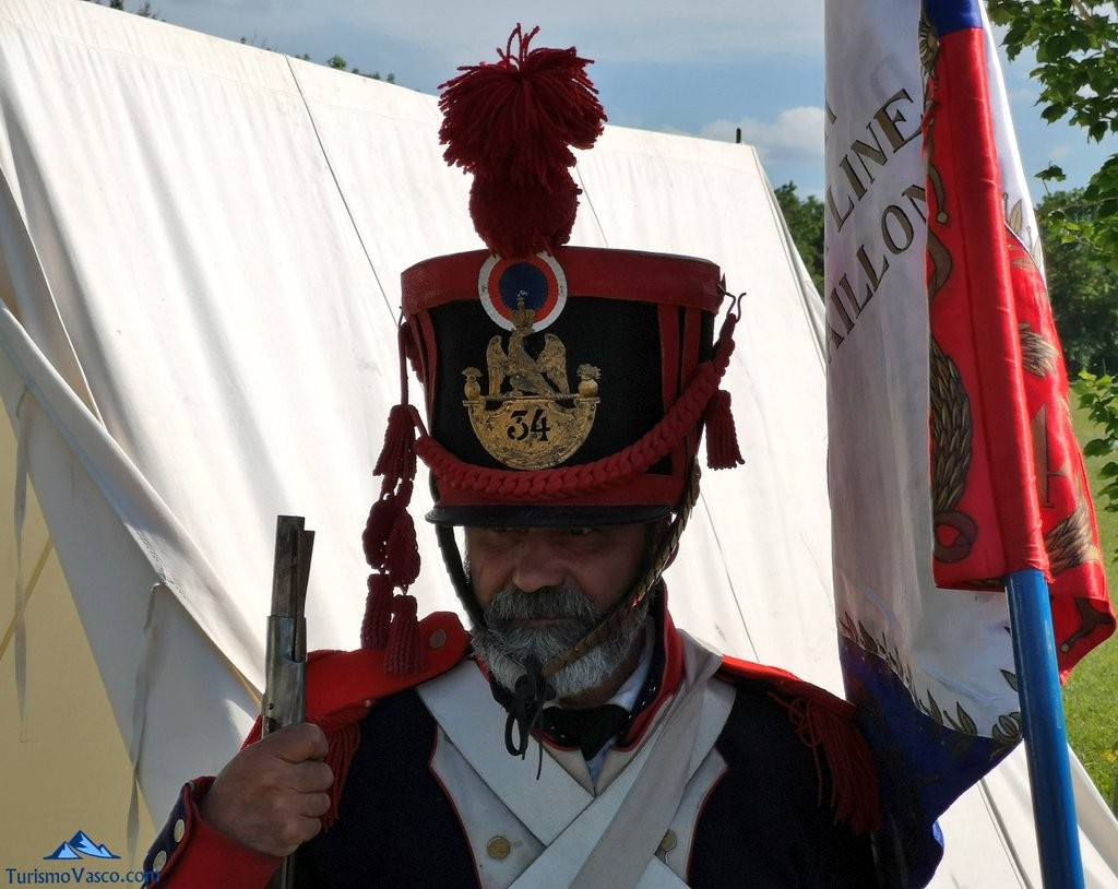 Posando, ,Batalla de Vitoria