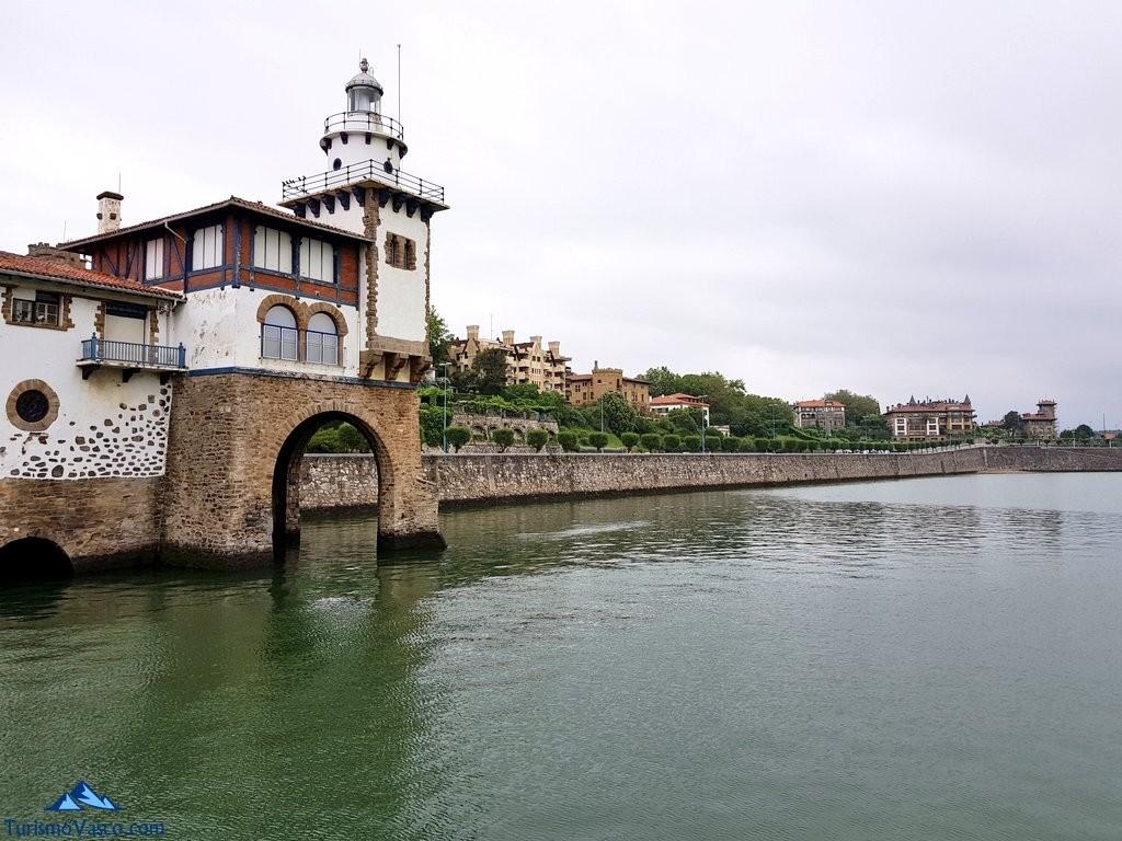 Puerto de Getxo, arriluce