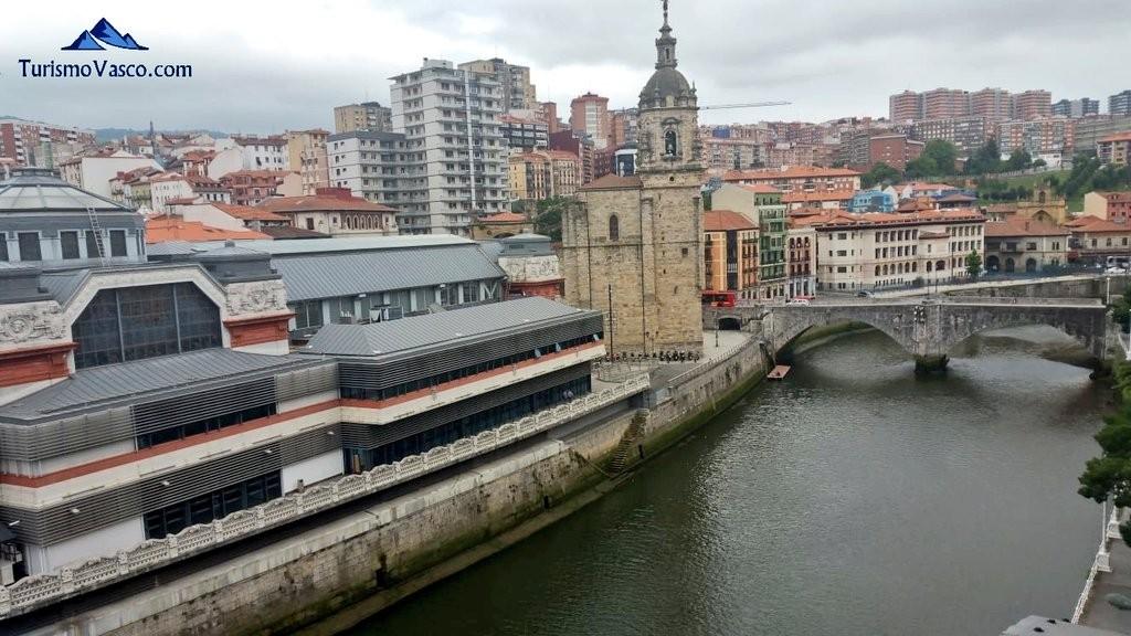 San Antón desde Martzana, Bilbao