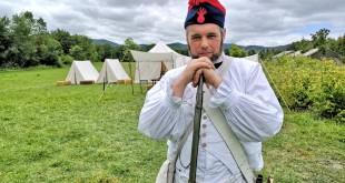 Soldado frances de Bilbao, recreacion de la batalla de Vitoria