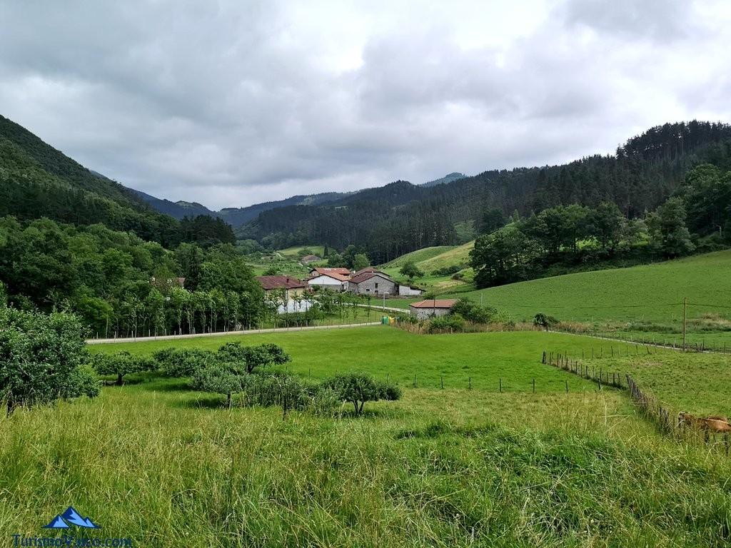 Vistas del Valle de Oma