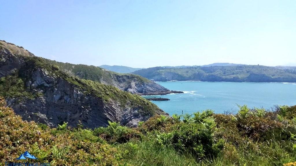Vistas desde la costa de gorliz