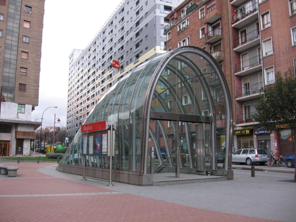 Fosterito metro Bilbao, que ver Bilbao