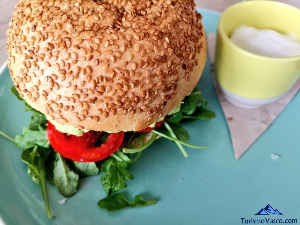 El Curry Verde, burger