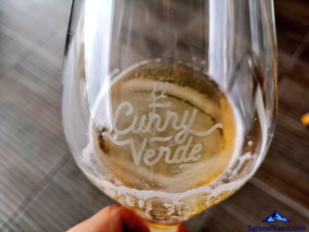El Curry Verde, copa