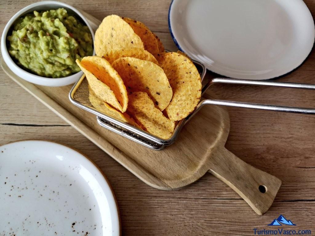 El Curry Verde, nachos