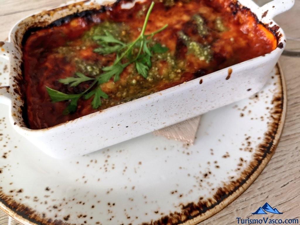 El Curry Verde, parmigiana de berenjenas