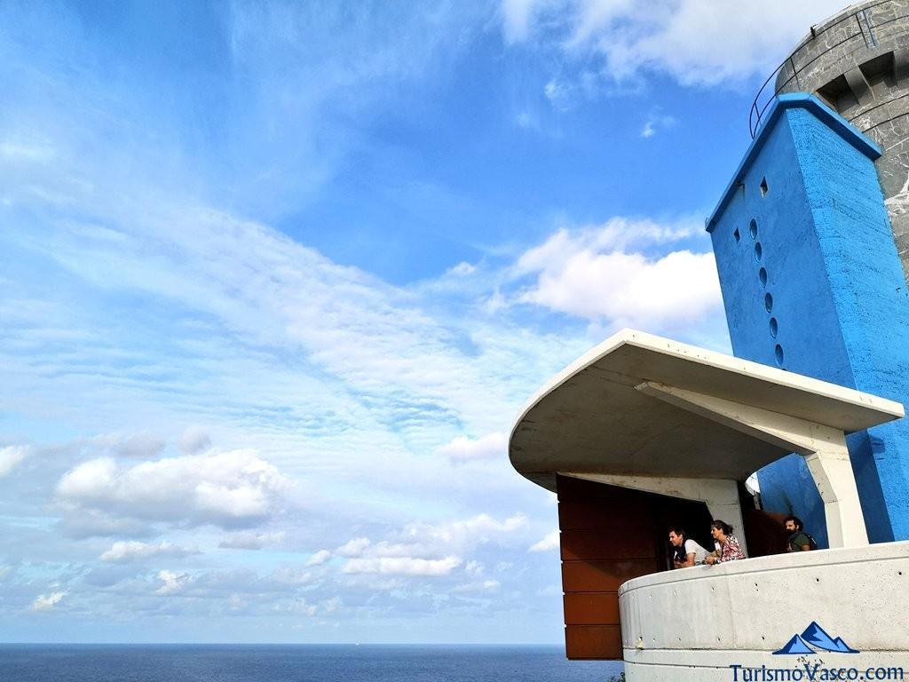 Faro de matxitxako, avistando el mar