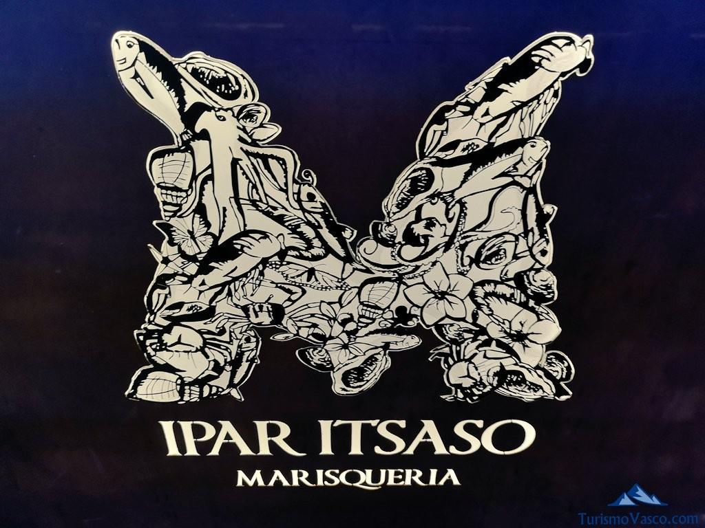 Marisqueria Ipar Itsaso de Urrunaga, cartel