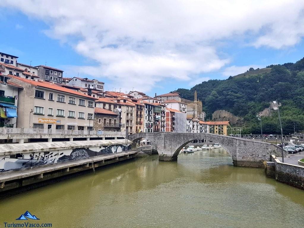 Puente de piedra, Ondarru