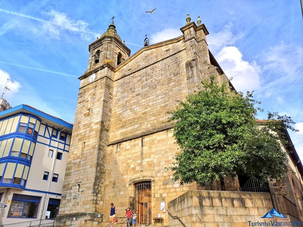 iglesia Santa Eufemia de Bermeo