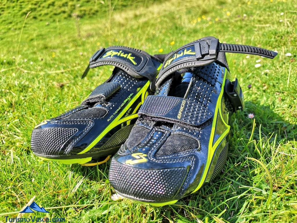 zapatillas de ciclista viaje al tour de francia