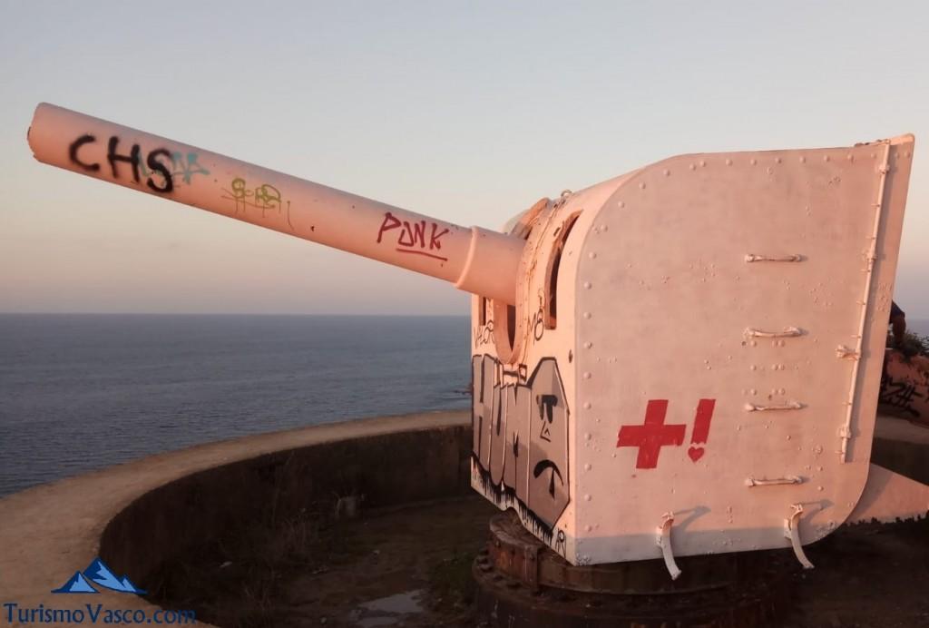 Cañon Faro de Gorliz