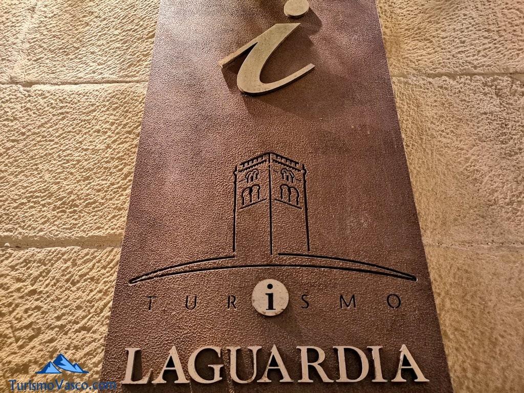 Cartel Laguardia, rioja alavesa