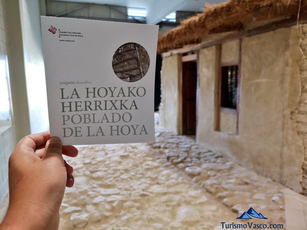 Folleto, Poblado de la Hoya, Laguardia, Rioja Alavesa