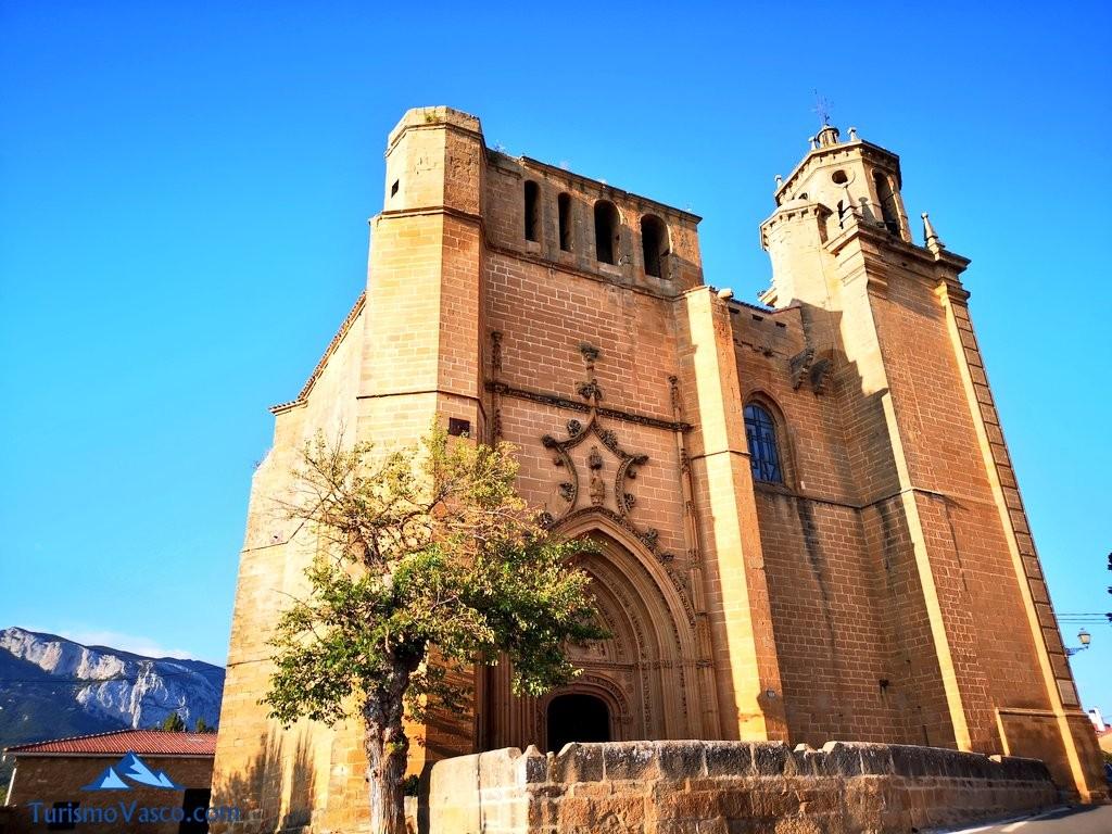 Iglesia de leza, Rioja Alavesa