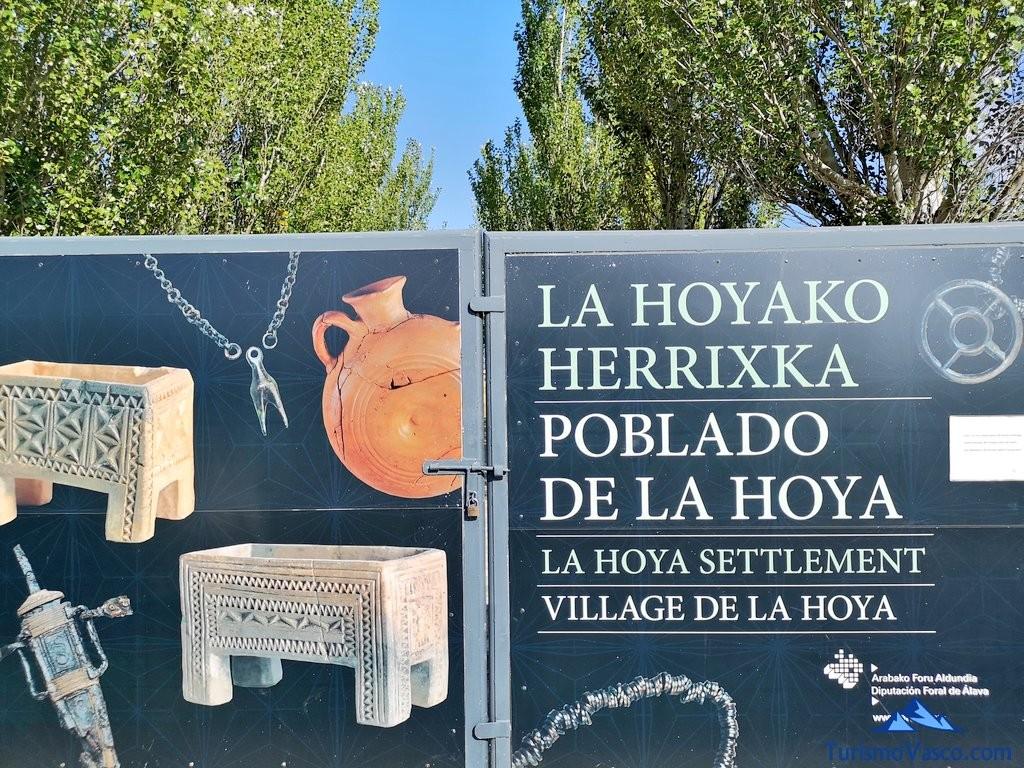 Puerta, Poblado de la Hoya, Laguardia, Rioja Alavesa